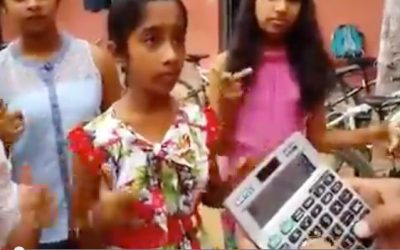 ▶ Amazing Math Skills – Indian Girls With Brilliant Mind Math