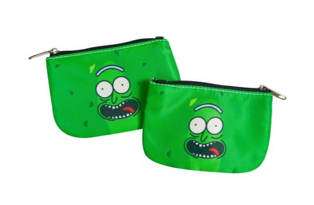 Rick And Morty Pickle Rick Coin Purse
